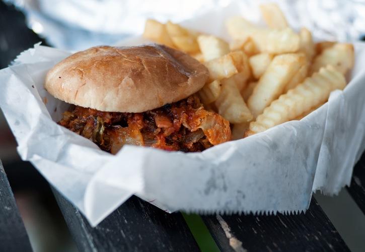 food hamburger